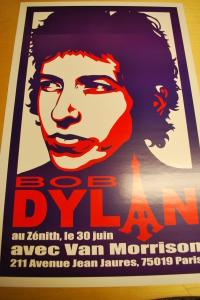 bob dylan - poster