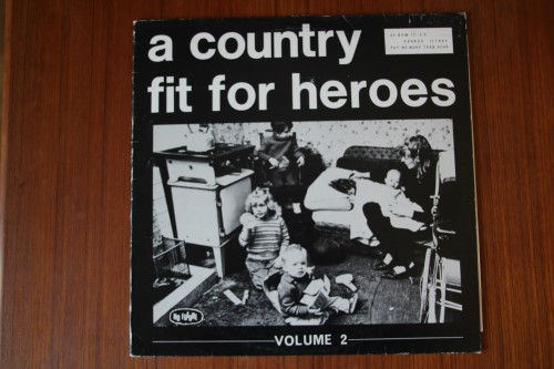 A Country Fit For Heros Vol 2 - V/A (Intensive Care,Patrol,Mania)(Vinyl LP)