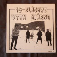 16 Blåsare Utan Hjärna, Martial Mosh ‎– Split (Vinyl Single)
