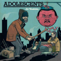 Adolescents – La Vendetta… (Color Vinyl LP)