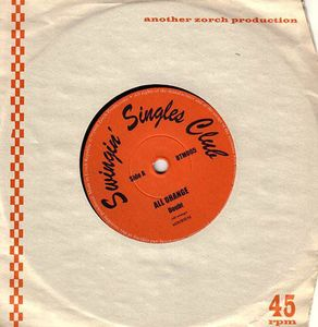 """All Orange / Grogdogs - Split (Vinyl 7"""")"""