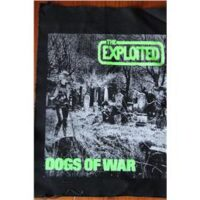 Exploited, The – Dogs of War (Ryggpatch/Backpatch)