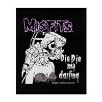 Misfits – Die Die My Darling (Sew-On Patch)