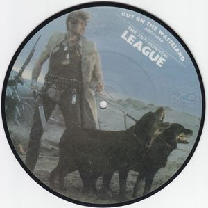 Anti-Nowhere League ‎– Out On The Wasteland (Picture Vinyl Single)