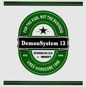 D.S. 13 – For The Kids, Not The Business – Umeå Hardcore 1998 (Vinyl Single)