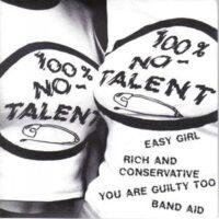 No-Talents, The – 100% No-Talent (Vinyl Single)