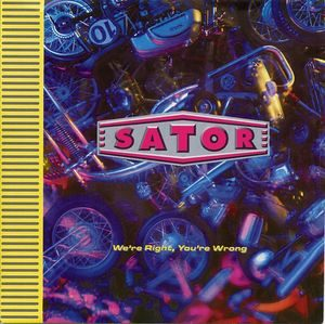 Sator – We're Right You're Wrong (Vinyl Single)