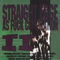 Straight Edge As Fuck Compilation II – V/A (CD)