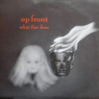 Up Front – What Fire Does (Red Color Vinyl Single)