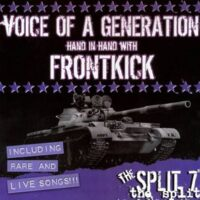 Voice Of A Generation Hand In Hand With Frontkick ‎– The Split 7″ (Vinyl Single)