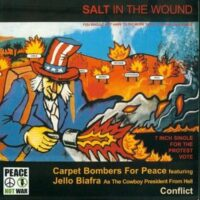 Carpet Bombers For Peace / Conflict  – Salt In The Wound (Vinyl Single)