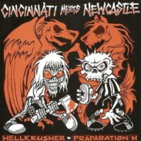 Hellkrusher / Präparation-H ‎– Cincinnati Meets Newcastle (Vinyl Single)