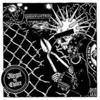 Illegal By Choice – A Benefit Record For Hidden Refugees –  V/A (Vinyl Single)(Asta Kask,Victims mfl)