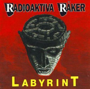 Radioakativa Räker - Labyrint (CD)