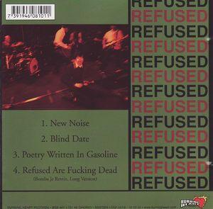 Refused - The New Noise Theology E.P. (CDm)