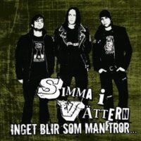 Simma I Vättern –  Inget Blir Som Man Tror… (CD)