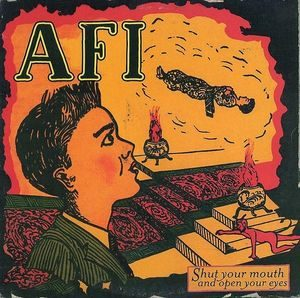 AFI – Shut Your Mouth And Open Your Eyes (Color Vinyl LP)