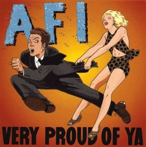 AFI – Very Proud Of Ya Purple/Brownish (Colour Vinyl LP)