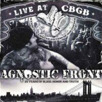Agnostic Front – Live At CBGB (Color Vinyl LP)