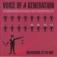 Voice Of A Generation – Obligations To The Odd (CD)