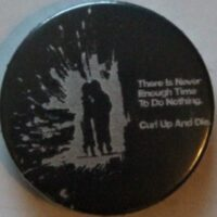 Curl Up And Die – Nothing (Badges)