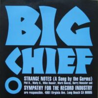 Big Chief – Strange Notes (Color Vinyl Single)