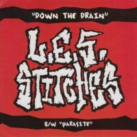 L.E.S. Stitches ‎– Down The Drain (Color Vinyl Single)