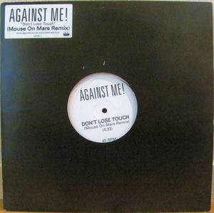 Against Me! ‎– Don't Lose Touch (Vinyl 12″)