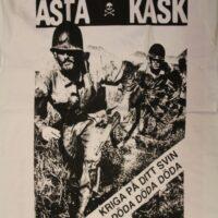 Asta Kask – Kriga På (Vit T-S)