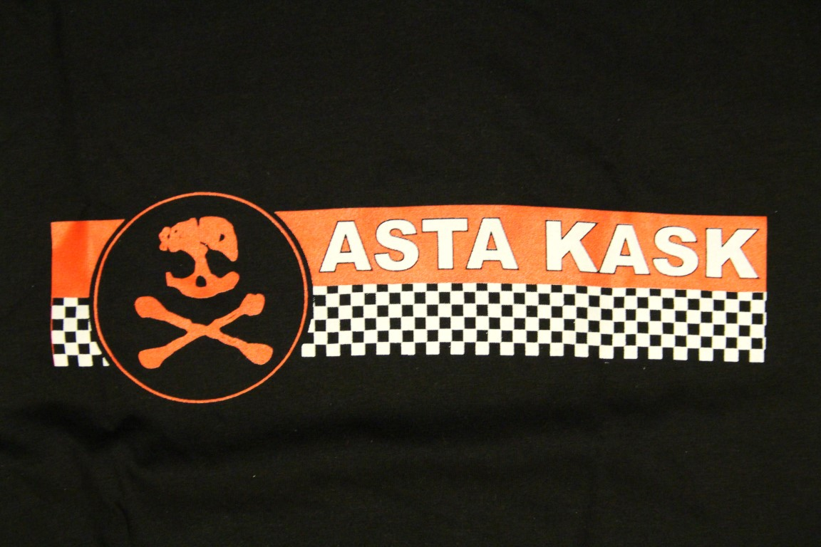 Asta Kask - Checker (Black T-S)