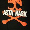 Asta Kask - Red Skull (Svart T-S)