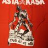 Asta Kask - Död Åt Er Alla/Ghoul (Röd T-S)