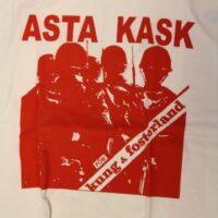 Asta Kask – För Kung Och Fosterland (Vit T-S)
