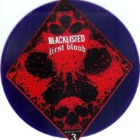 Blacklisted  / First Blood ‎– Dead Man's Hand 3 (Colour Vinyl Single)