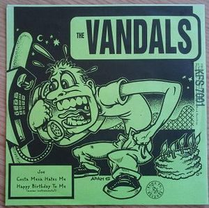 Vandals, The / Assorted Jelly Beans – Split (Vinyl Single)