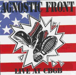 Agnostic Front ‎– Live At CBGB (CD)