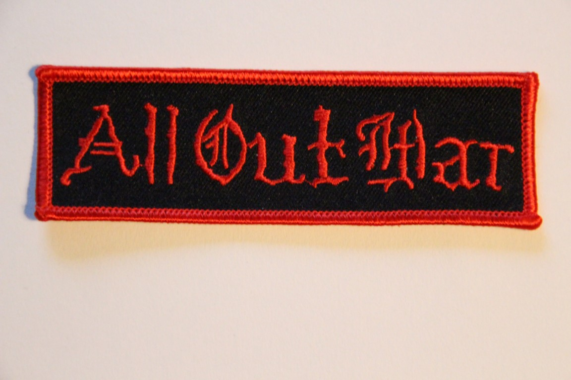 All Out War - Logo (Broderad Patch)