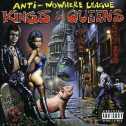 Anti-Nowhere League – Kings & Queens (CD)