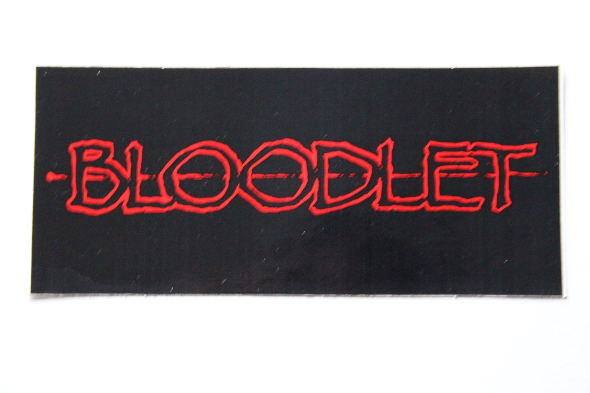 Bloodlet - Logo (Sticker)