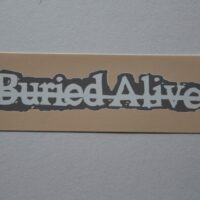 Buried Alive – Logo (Sticker)