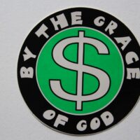 By The Grace Of God – Logo (Sticker)