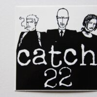 Catch 22 – Logo/Heads (Sticker)