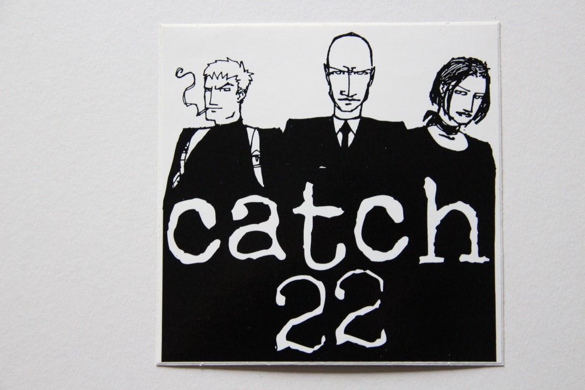 Catch 22 - Logo/Heads (Sticker)