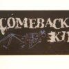 Comeback Kid - Skeleton/Logo (Sticker)