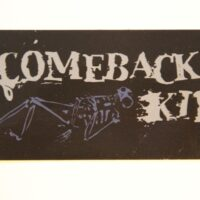Comeback Kid – Skeleton/Logo (Sticker)