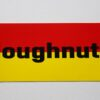 Doughnuts - Logo (Sticker)