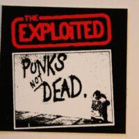 Exploited, The – Punks Not Dead (Sticker)