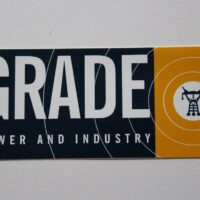 Grade – Power And Industry (Sticker)