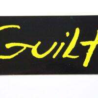 Guilt – Logo (Sticker)
