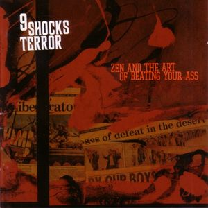 9 Shocks Terror ‎– Zen And The Art Of Beating Your Ass (Colour Vinyl)